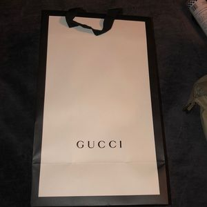 Gucci Shoe Box and Bag